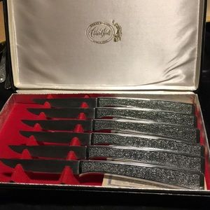 Set of six- Carvel Hall Steak Knives